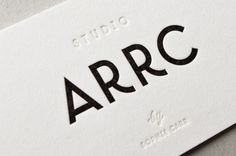 Studio Arrc - Branding by moodley brand identity, via Behance