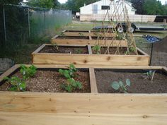 container garden raised bed by schwinkler on Etsy