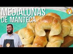 Medialunas de Manteca Express | #TemporadadeDesayunos | Receta Fácil | Tenedor Libre - YouTube Argentina Food, Deli Food, Pan Dulce, Fluffy Pancakes, Sweet Pie, Bread And Pastries, Dinner Rolls, Empanadas, Yummy Cakes