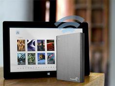 Seagate - Wireless Plus 2TB Portable Hard Drive - Gray - Alt_View_Zoom_16