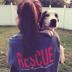 Dog Shirt, Adopt Dont Shop, Animal Rescue, Rescue Is My Favorite Breed- Comfort Colors Short Sleeve Shirt – Treat Dreams, Denim