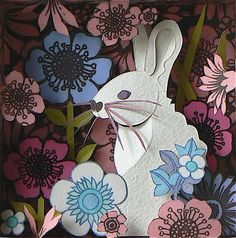 """U.K.-based paper artist Helen Musselwhite handmade paper dioramas takes paper art to another level.""""Influenced by the natural world each piece is manipulated to become an intriguing place, a glimpse into another world of fiction and fairytale."""""""