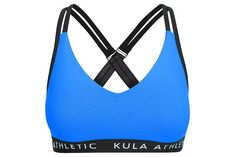 Coco & Milly Bra in Blue West Africa, Back Strap, Gym Workouts, Stretch Fabric, Bra, Fitness, Model, How To Wear, Fashion