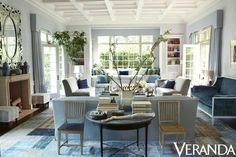 A First Look Inside the Stunning Windsor Smith-Designed Home that Covers Veranda Architecture by Steve Giannetti