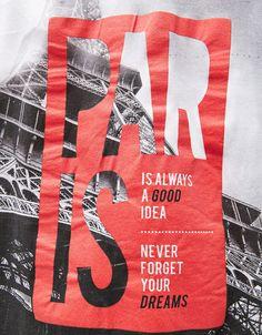 Camiseta Paris/Snowboard. Descubre ésta y muchas otras prendas en Bershka con nuevos productos cada semana