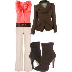 Work. [Work Fashion, Business Attire, Professional Attire, Professional Wear]