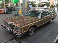 1974 Ford LTD Country Squire.