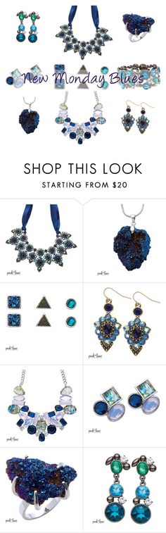 """Monday Blues"" by parklanejewelry on Polyvore www.parklanejewelry.com/rep/stephaniedudley"