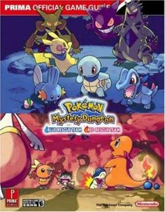 Pokemon Mystery Dungeon Strategy Guide by Prima Games