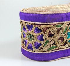 FREE SHIPPINGWide Purple Silk Fabric by ArtsyCraftsyShoppe on Etsy, $12.50