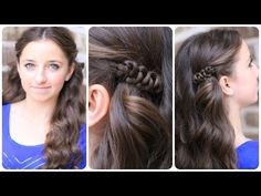 How to Create a Sides-Up Slide-Up Hairstyle | Easy Pullback Hairstyles - YouTube #CGHSidesUpSlideUp #Hairstyles