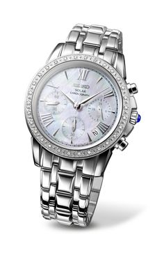 Gifts for your girls: Seiko Le Grand sport solar watch