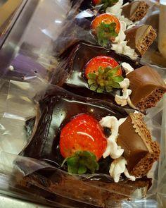 Torta suflair fatia. #confeitariapolos #goiania  (em Polos Pães e Doces)
