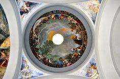 Pueblo Espanyol Chapel Ceiling, Palma, Majorca, Spain - Johnson-Miles photo
