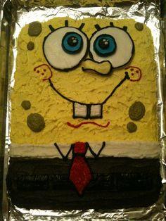 Giant Sponge Bob sugar cookie.