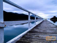 Elaine Bay jetty in