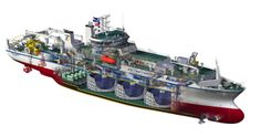 Cable-laying ship, the TE SubCom C.S. Dependable