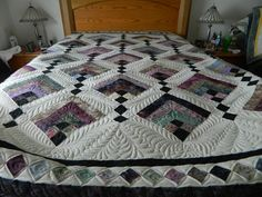 Hanging Gardens Quilt--I love this pattern and it is actually pretty easy to piece.