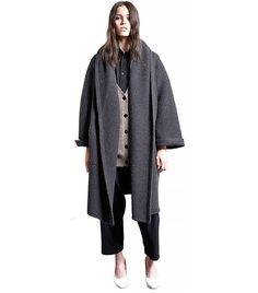 Lauren Manoogian Capote Coat // Have you ever seen a coat that looked cozier?