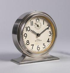 Big Ben Alarm Clock, Henry Dreyfuss   Cooper Hewitt, Smithsonian ...