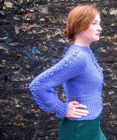 Pattern: Forecast by Stefanie Japel. Book: Weekend Knitting