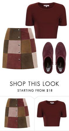 """""""chilling"""" by bently67kr ❤ liked on Polyvore featuring Topshop, Glamorous and Dune Black"""