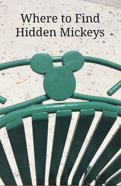 Where to find Hidden Mickeys at Disney World Florida