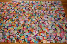 """Disappearing Nine Patch Sept 15 wip 