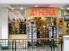 Athena retail chain, sold distinctive artworks posters, postcards etc
