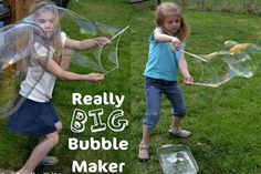 Really Big Bubble Maker