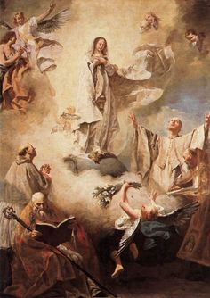 AD IESUM PER MARIAM | coriesu:   Immaculate Conception with Saints....