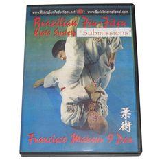 Kioto Brazilian Jiu Jitsu MMA Subs Mounts #1 DVD Mansur M-0138 Helio Gracie