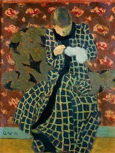 Edouard Vuillard - The Seamstress - painting Maurice Denis, Edouard Vuillard, Figure Painting, Painting & Drawing, Pierre Bonnard, Post Impressionism, Art Et Illustration, Paintings I Love, Art Moderne