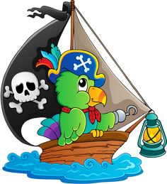 "Photo from album ""Пираты"" on Yandex. Pirate Cartoon, Cartoon Art, Disney Pictures, Cute Pictures, Pirate Quilt, Pirate Parrot, Pirate Treasure Maps, Disney Clipart, Cute Paintings"