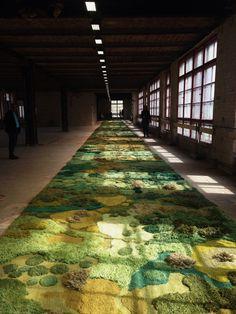Alexandra Kehayoglou carpet art for dries van noten