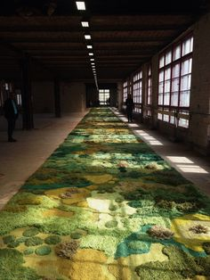 Alexandra Kehayoglou carpet art for dries van noten