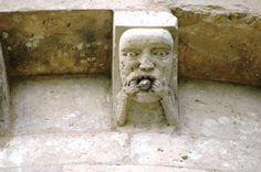 Aulnay (17) Modillon Lion Sculpture, Art 3d, Statue, Images, France, Ornaments, Patterns, Historical Architecture, Big Top