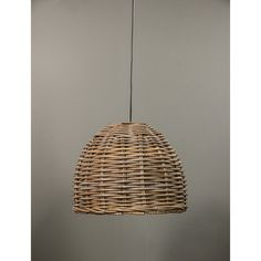 Our Dawson hanging lamp is made with the natural material, Rattan and finished with an iron base. It is sturdy plus eco-friendly which makes it perfect for indoor and outdoor use.