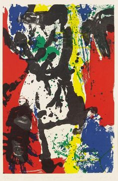 Asger Jorn (Denmark, 1914-1973) Dead Spot 1957