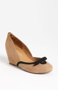 Jeffrey Campbell 'Ladylike' Wedge $119.95 Pump available at #Nordstrom