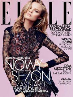 Magdalena Frackowiak for Elle Poland September 2013