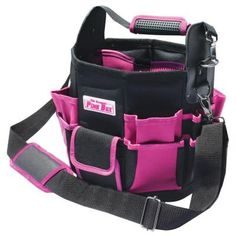 The Original Pink Box 11 in. Tote Bag w/Changeable Tool Wall $55.64