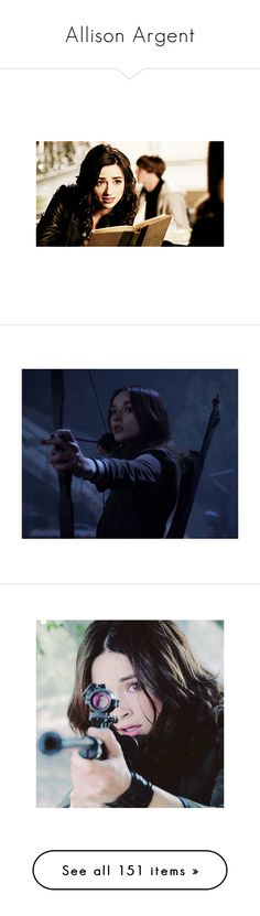 """""""Allison Argent"""" by assia-mouaqk ❤ liked on Polyvore featuring crystal reed, teen wolf, home, home decor, crystal home decor, people, allison argent, famous, people - crystal reed and allison"""