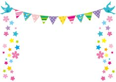 Birthday Balloons Clipart, Balloon Clipart, Borders For Paper, Borders And Frames, Birthday Background Design, Party Streamers, Diy And Crafts, Paper Crafts, Birthday Template