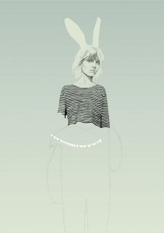 Illustration by Denise Nestor  #fashion #illustration #denise_nestor