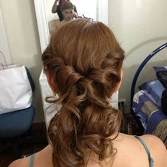 Simply Twist Low Pony Hair Style by Maricel D