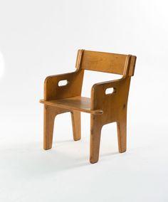 Hans Wegner; 'Peter's Chair' for FDB, 1944.