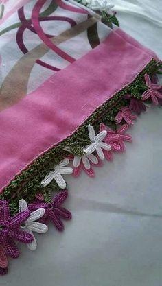 Crochet For Beginners Cute edge Crochet Borders, Crochet Motif, Crochet Doilies, Crochet Lace, Crochet Stitches, Crochet Bedspread, Crochet Cushions, Crochet Patterns For Beginners, Baby Knitting Patterns