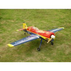 Sukhoi Su-26 4 Channel Gas Powered Remote Control Plane Kit