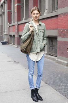 October 17 NYC Street Style - NYC Street Style Pictures - ELLE